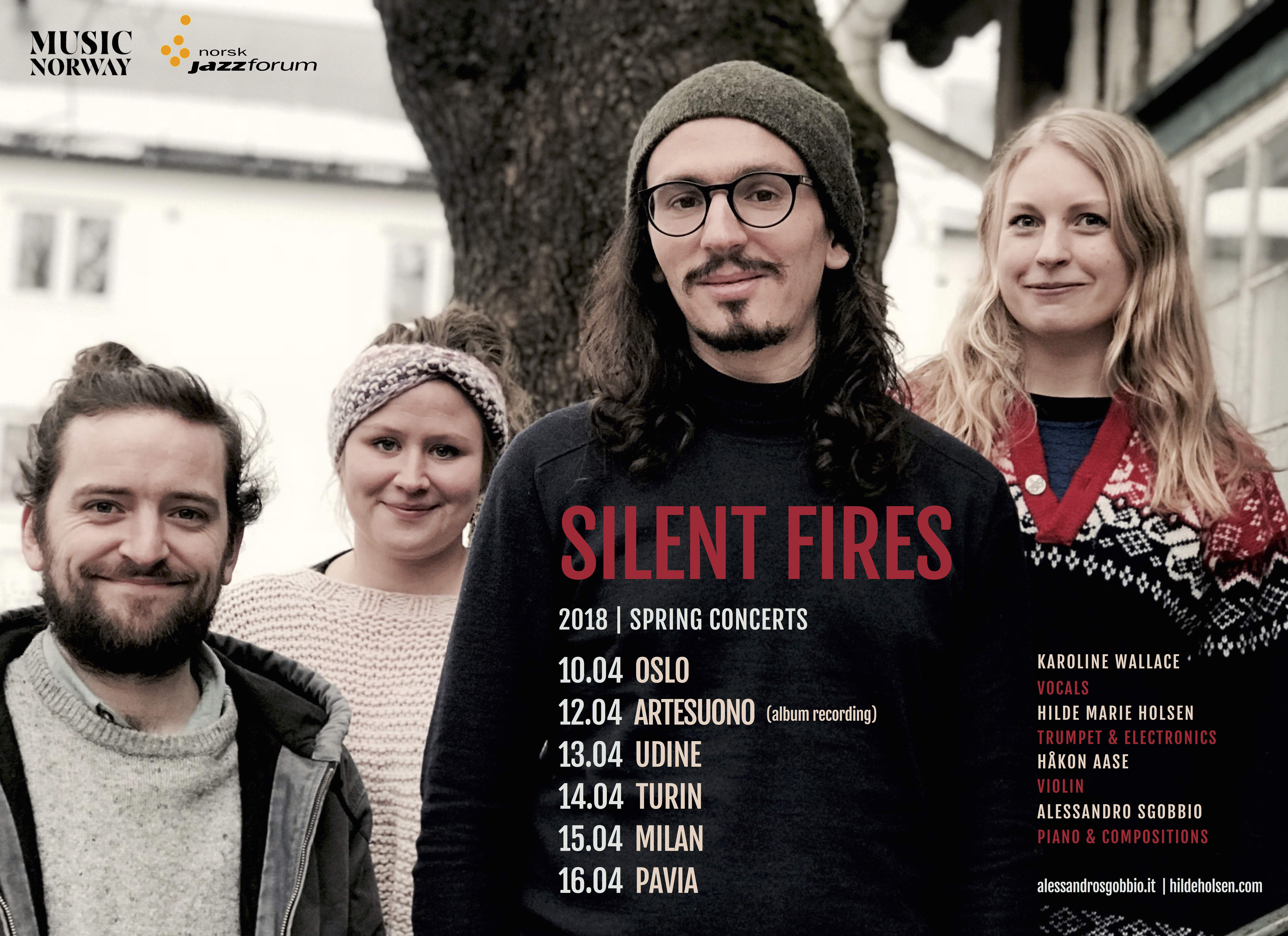 Silent Fires Tour Poster 2018 1