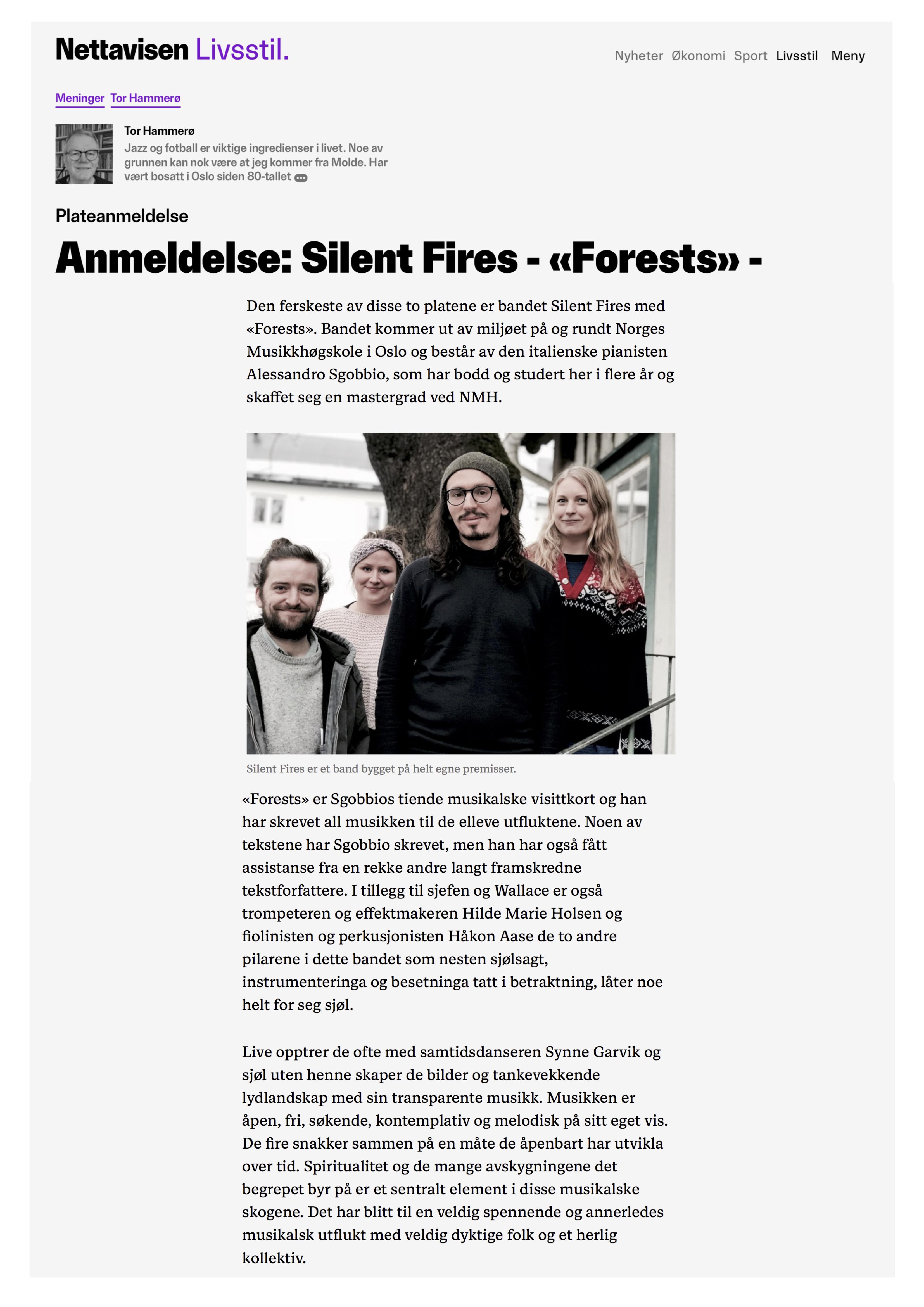 Forests - Nettavisen (25.12.19)